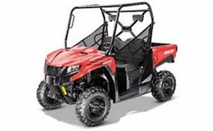 2018 PROWLER 500 CLEARANCE SALE!! $7499 REDUCED