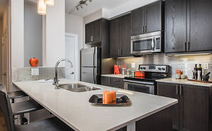 Open Concept 1 Bd + Den with Waterloo Park Views!