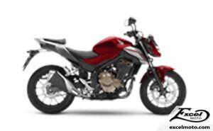 2018 HONDA CB500 FAJ ABS RED/BLACK