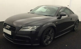 Grey AUDI TTS COUPE 2.0 TFSI Petrol QUATTRO BLACK EDITION FROM £51 PER WEEK!