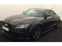Grey AUDI TTS COUPE 2.0 TFSI Petrol QUATTRO BLACK EDITION FROM £51 PER WEEK!