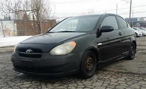 2008 Hyundai Accent, Model SPORT, PROPRE, SUPER ECONOMIQUE