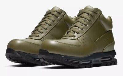 NIB Nike Men's ACG Air Max Goadome Boots Olive Green 865031-303 Sz 9.5 10.5