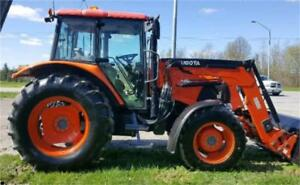 2010 Kubota M100X with loader