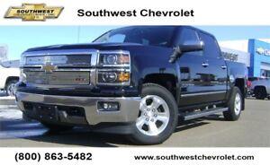 2014 Chevrolet Silverado 1500 LTZ 2LZ Crew 4x4, 58400km, Leather