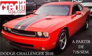2010 Dodge Challenger, À PARTIR DE 72$/SEMAINE 100% APPROUVÉ !