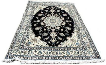 Authentic Persian Handmade Nain (Tabas) Rug-244 x 163cm Hornsby Hornsby Area Preview