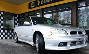 1999 Subaru Legacy B4 RSK AWD 77K's Twin-Turbo LEATHER  276hp