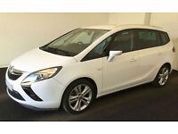 Vauxhall/Opel Zafira Tourer SRi FROM £51 PER WEEK!