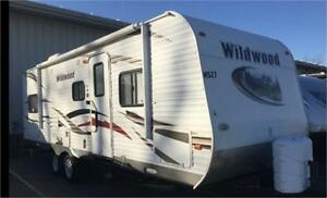 26 foot  Wildwood… BAD CREDIT FINANCING AVAILABLE!!