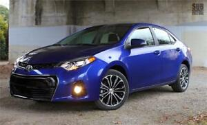 2014 TOYOTA COROLLA S AUTO |CAM|ROOF|ALLOY|WARRANTY|SERVICERECRD