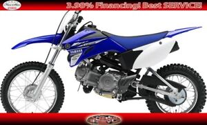 2017 YAMAHA TTR 110 ELECTRIC START OFF ROAD MOTORCYCLE