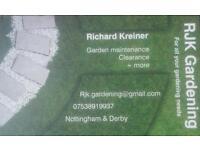 RJK Gardening/ handyman services