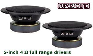 5-inch 4Ω Full Range Speakers ~ MD-888