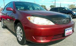 2005 TOYOTA CAMRY  LE / 128K /4cyl / Auto / CLEAN CARPROOF !