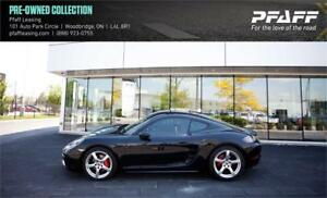 2017 Porsche 718 Cayman S Manual like brand new