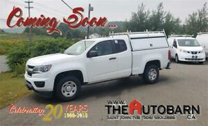 2016 CHEVROLET COLORADO 2WD EXTENDED CAB - 2.5L 4CYL, WORK CAP