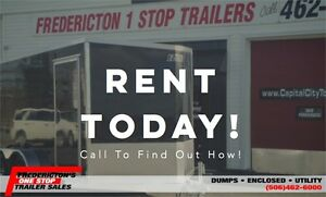 Rent A Trailer Today!