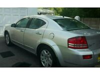 Dodge advenger silver nice clean car