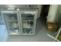 Commercial under counter bottle fridge