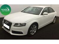 £180.51 PER MONTH WHITE 2011 AUDI A4 2.0 TDI TECHNIK 4 DOOR DIESEL MANUAL