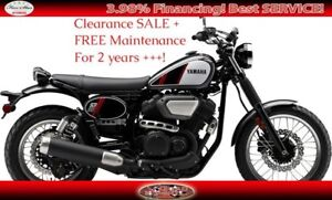 2017 Yamaha SCR 950 Street Motorcycle Clearance Event!