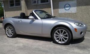 2007 Mazda MX-5 GX -CLEAR-OUT SALE AT $9,999 W/SAFETY INCLUDED!!