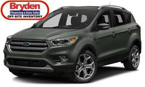 2018 Ford Escape Titanium / 2.0L I4 / Auto / 4x4
