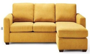 DISTINCTLY HOME Andrea II Sectional Sofa with Chaise