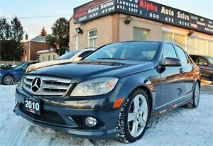 2010 Mercedes-Benz C-Class C 300 4MATIC *ONLY 95k KM* CERTIFIED!