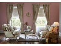 Made To Measure Roman Blinds and Curtains - FREE samples
