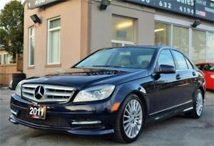 2011 Mercedes-Benz C-Class C250 4MATIC *NO ACCIDENTS* CERTIFIED!