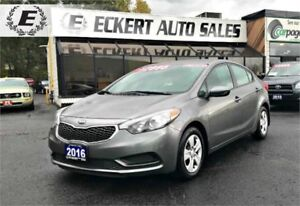 2016 Kia Forte LX WITH BLUETOOTH