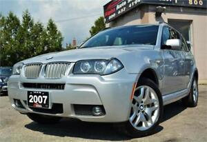 2007 BMW X3 3.0si M-Sports Pckg *No Accidents* Certified|Warrant
