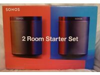 Sonos Play:1 Twin Pack. (As New)
