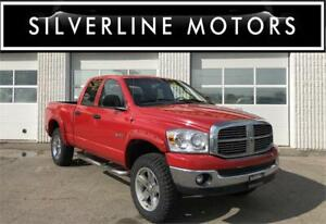"2008 DODGE RAM 1500, NO ACCIDENTS, 20"" NEW TIRES, 4x4!"