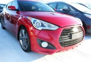 2013 HYUNDAI VELOSTER TURBO AUTO LEATHER SUNROOF SPORTY RED!!