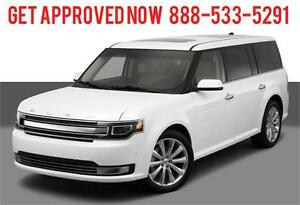2014 Ford Flex SEL AWD 7 Passenger ~ Finance Only $207 B/W