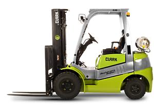 Brand New CLARK C25 Forklift for $539/month