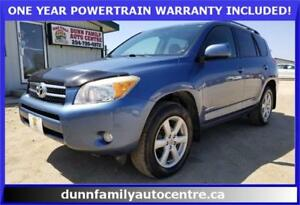 2007 Toyota RAV4 *LIMITED EDITION* 4WD