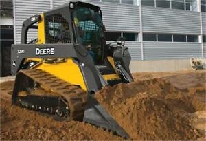 2013 john Deere 329D Track Skid Steer
