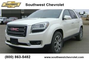 2015 GMC Acadia SLT, Leather, Sunroof, 92800km