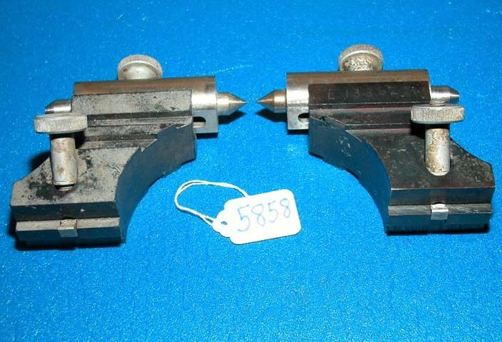 Adjustable Centers for Optical Comparator, Inv 5858