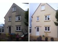 Property maintenance - roofing, painting, render clean, upvc gutter clean & installation