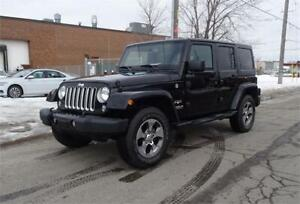 2016 Jeep Wrangler Unlimited Sahara. One Owner. Accident Free