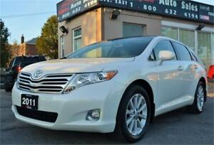 2011 Toyota Venza AWD *Leather|Pano Roof|Camera|NO ACCIDENTS!