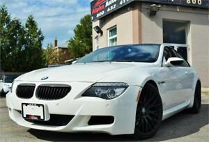 2008 BMW M6 V10 COUPE SMG *WHITE ON RED* CERTIFIED|WARRANTY!
