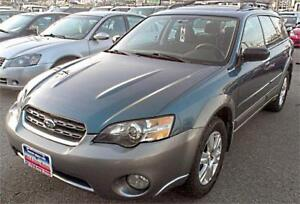 2005 Subaru Outback / 138k / AWD / AUTO / Alloys / A-RIMS