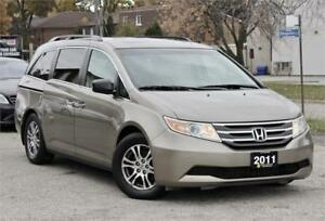 2011 Honda Odyssey EX-L - 8 Passenger - Rear DVD - Leather