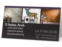 Painting and decorating plastering